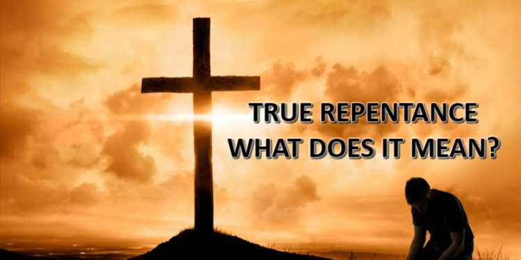 Repent Meaning