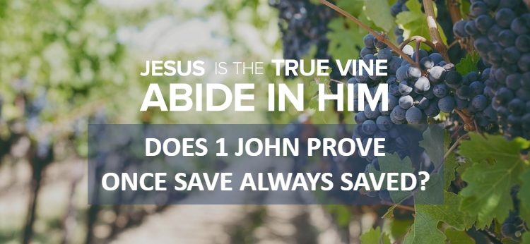 1 John 3:9 Once Saved Always Saved